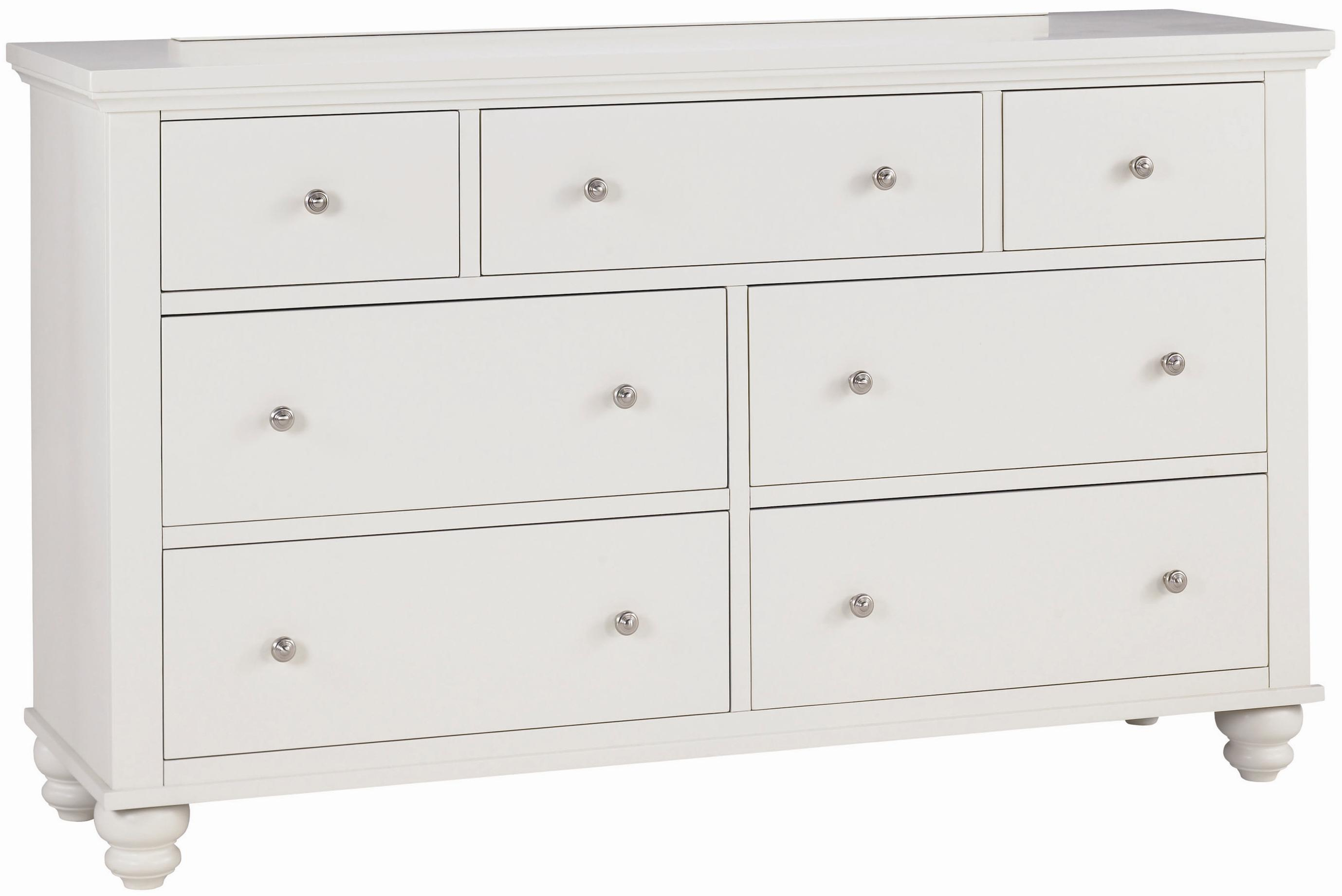 Aspenhome Cambridge Double Dresser - Item Number: ICB-454-EGG