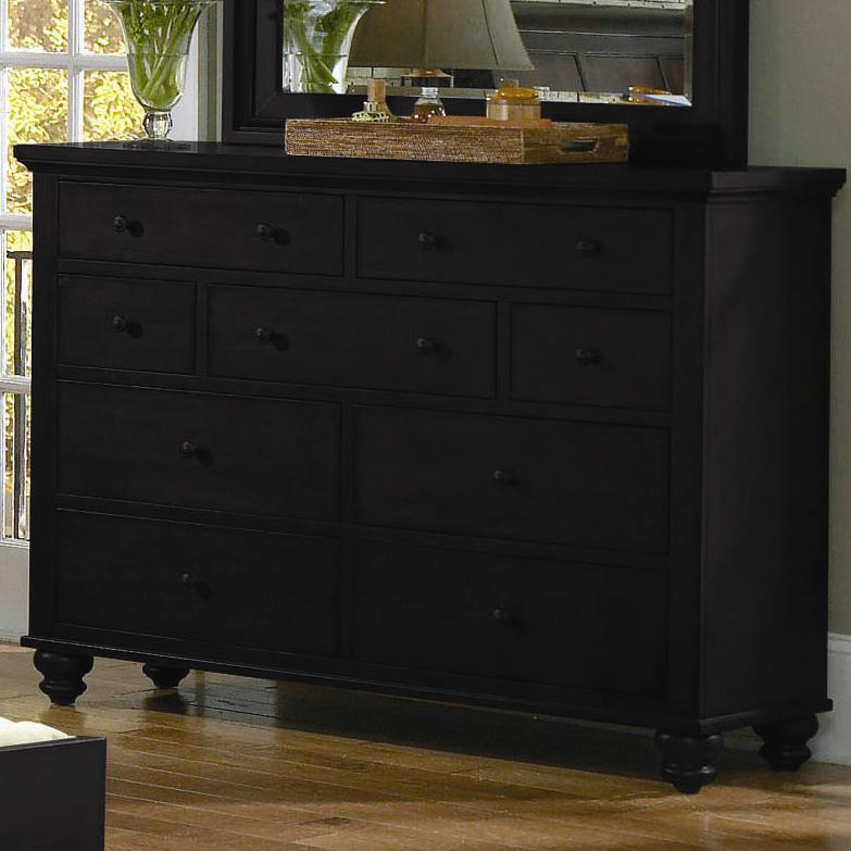 Aspenhome Cambridge Chesser - Item Number: ICB-455-BLK