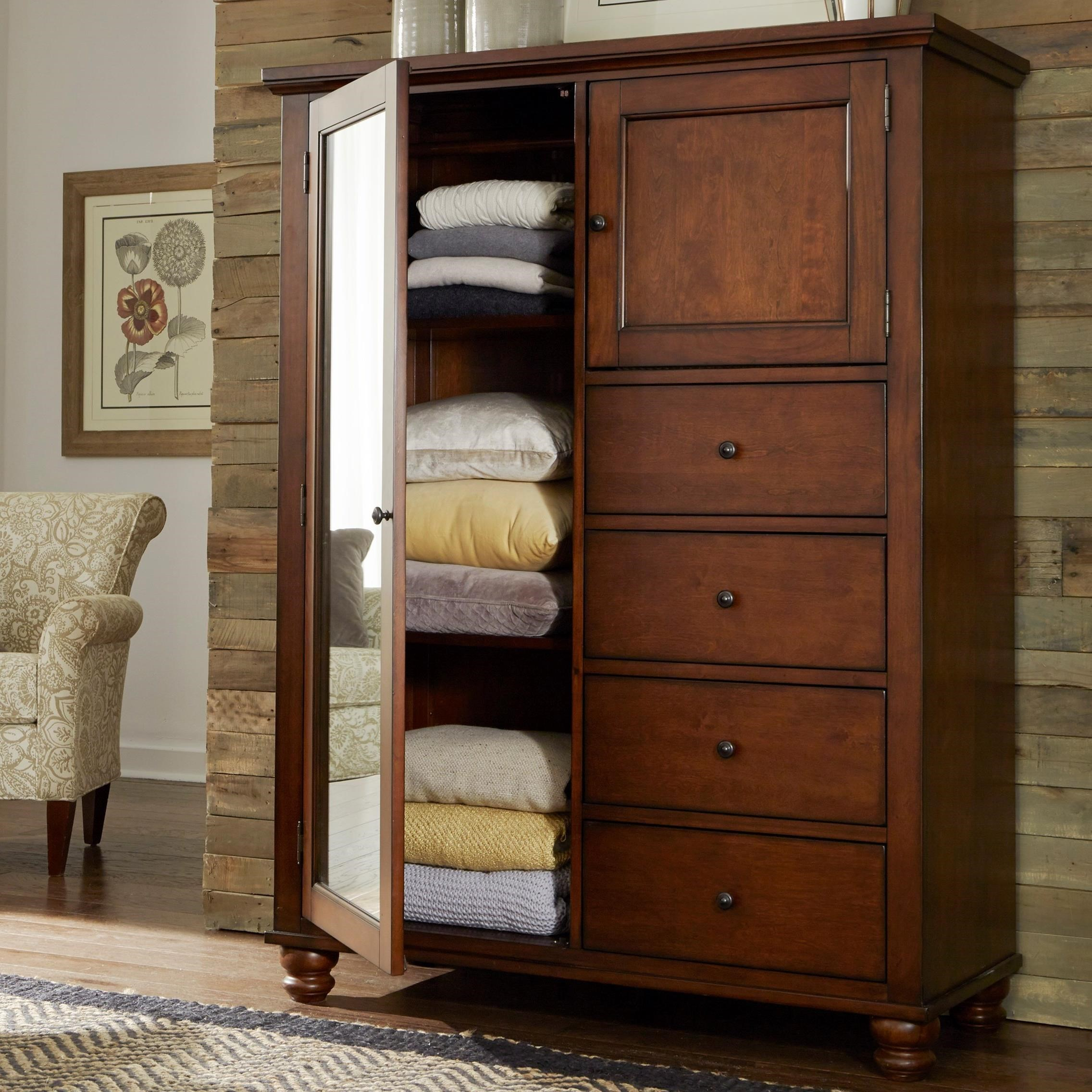 4 drawer 2 Door Chiffarobe