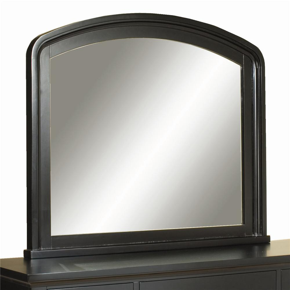 Aspenhome Cambridge Double Dresser Mirror - Item Number: ICB-462-BLK