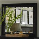 Morris Home Furnishings Clinton Clinton Chesser Mirror - Item Number: ICB-463-BLK