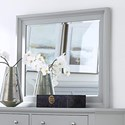 Aspenhome Cambridge Chesser Mirror - Item Number: ICB-463-GRY
