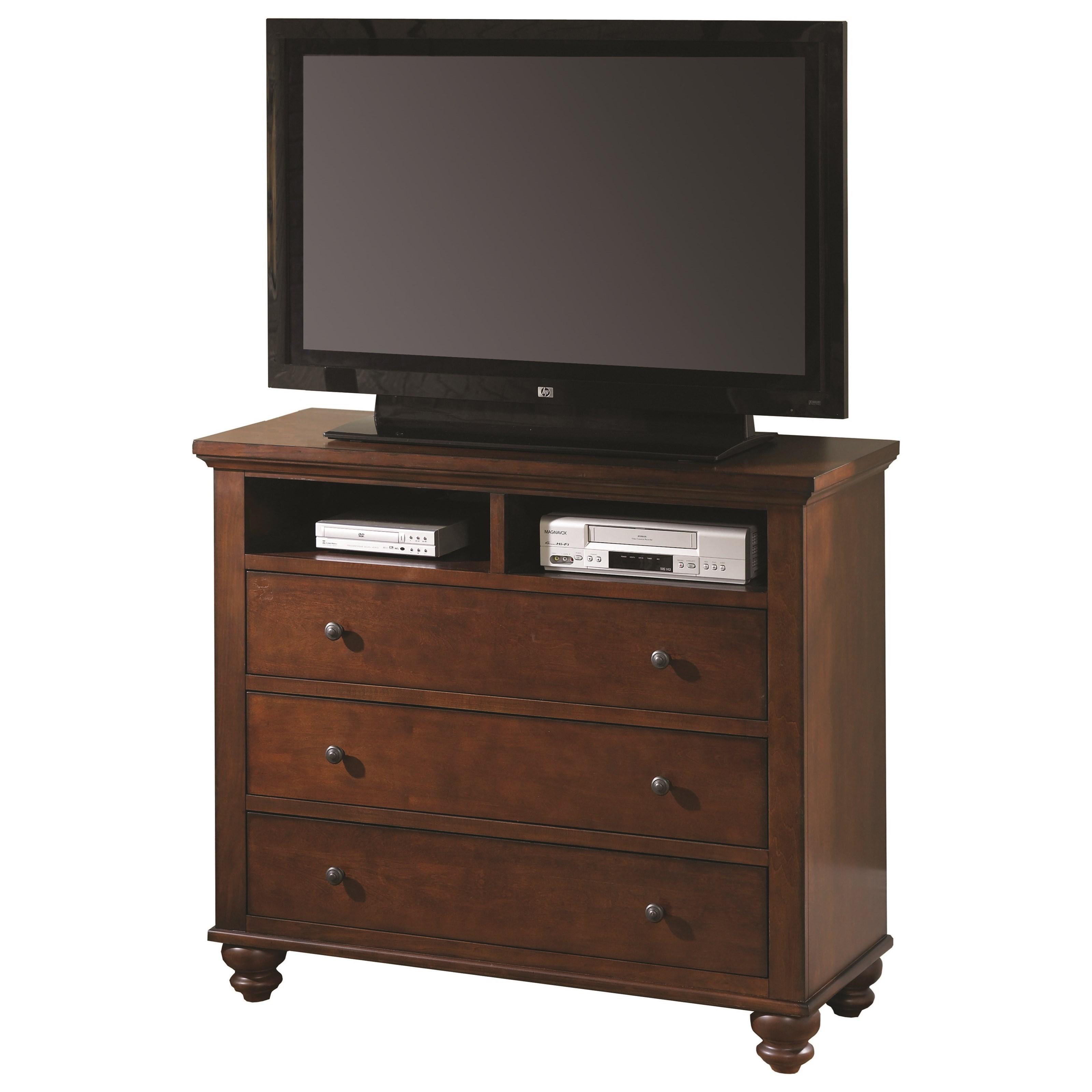 Aspenhome Cambridge Entertainment Chest - Item Number: ICB-485