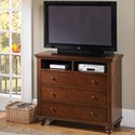 Aspenhome Cambridge Entertainment Chest  - Item Number: ICB-485-BCH-4