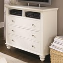 Aspenhome Cambridge Entertainment Chest  - Item Number: ICB-485-EGG-4