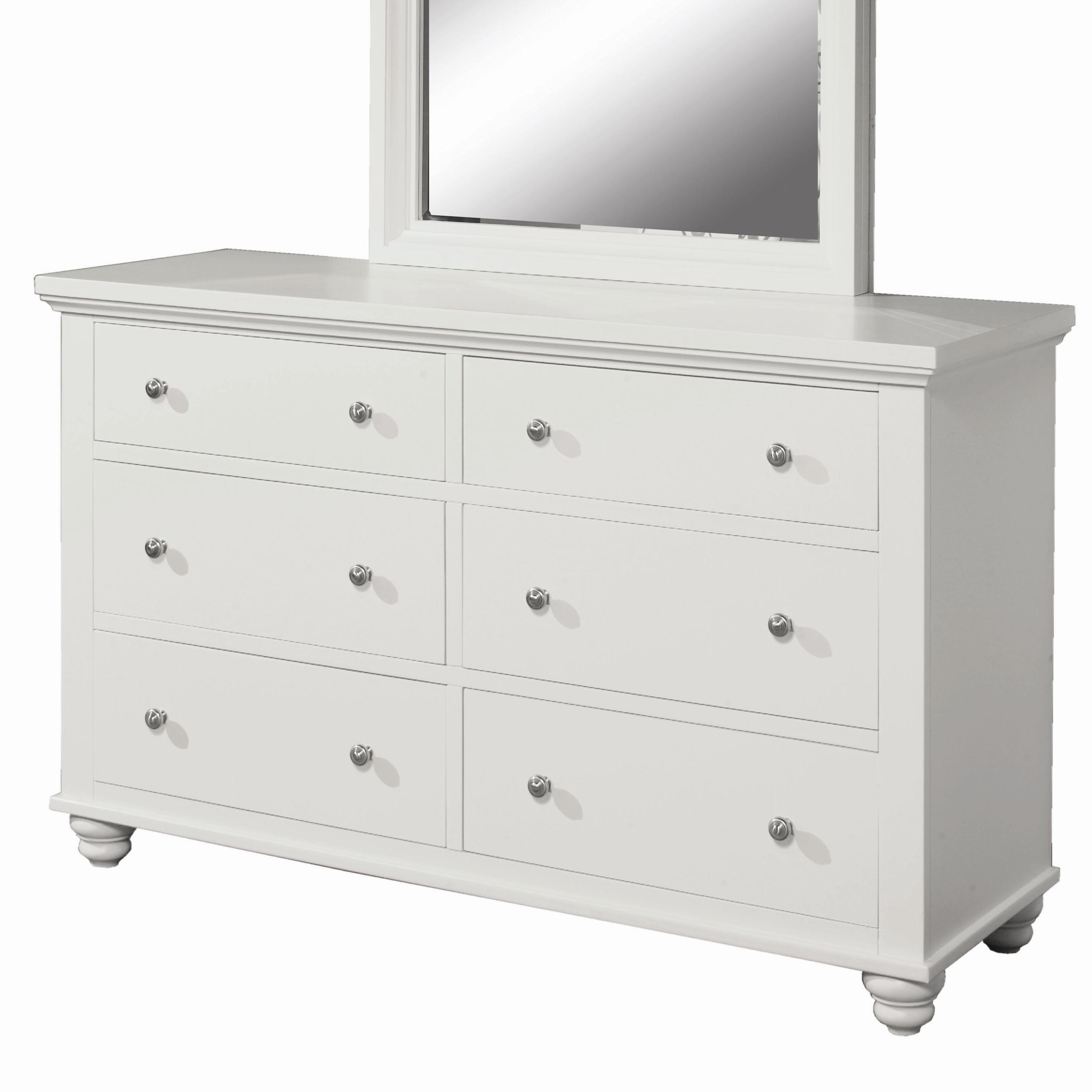 Aspenhome Cambridge 6 Drawer Dresser - Item Number: ICB-554-EGG