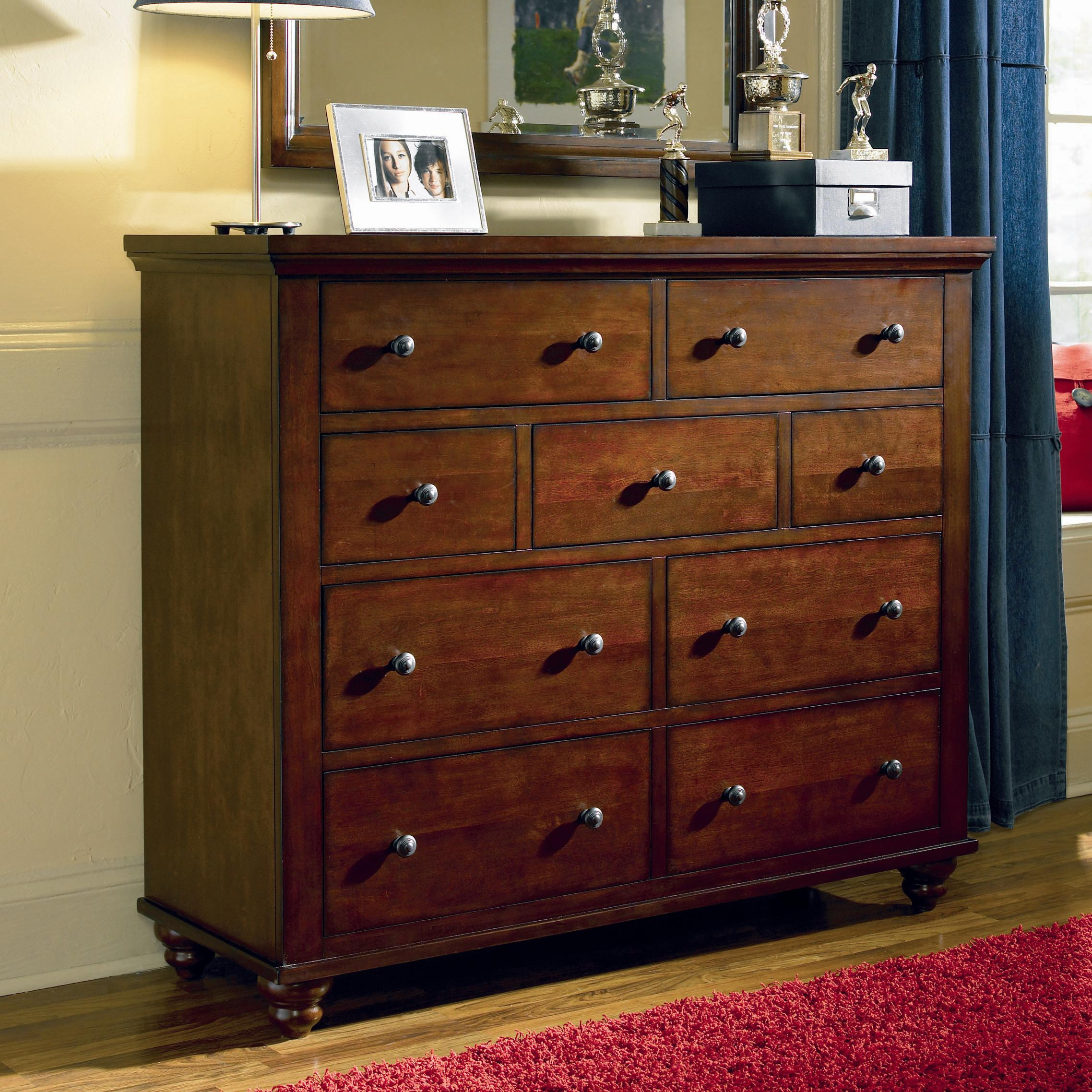 Aspenhome Cambridge Chesser with 9 Drawers - Item Number: ICB-555-BCH