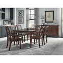 Aspenhome Cambridge Rectangular Leg Dining Table & Chair Set