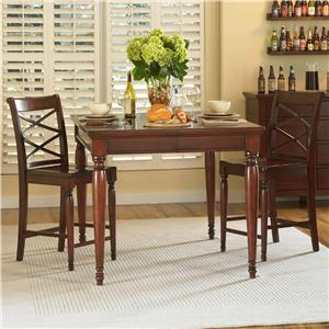 Morris Home Furnishings Clinton 3 Pc. Pub Table Set