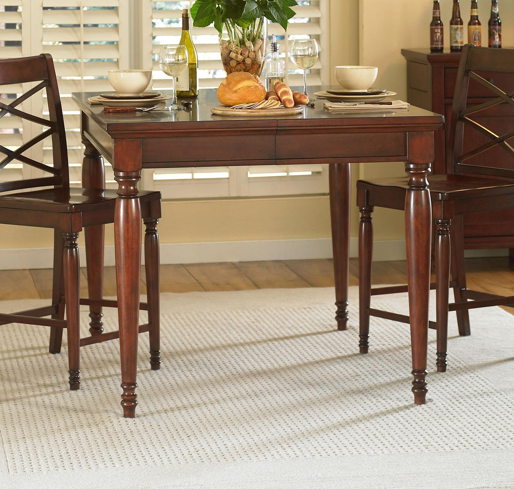 Aspenhome Cambridge Counter Height Table - Item Number: ICB-6252-BCH