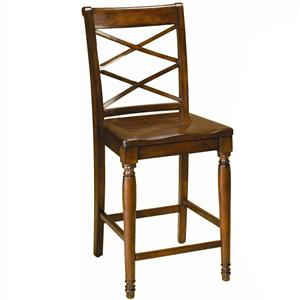 Morris Home Furnishings Clinton Clinton Counter Height Chair
