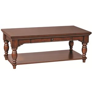 "Morris Home Furnishings Clinton 48"" Cocktail Table"