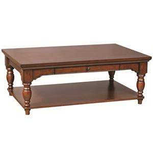 "Morris Home Furnishings Clinton 50"" Cocktail Table"