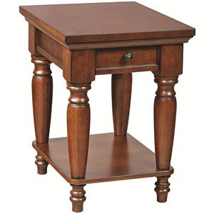 Morris Home Furnishings Clinton Clinton Chairside End Table