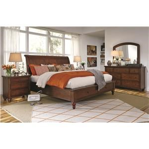 Aspenhome Cambridge 3 Piece Bedroom Set