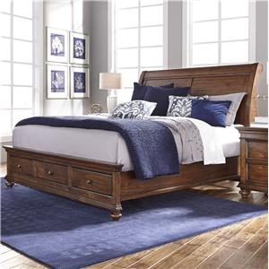 Morris Home Furnishings Camden Queen Sleigh Bed