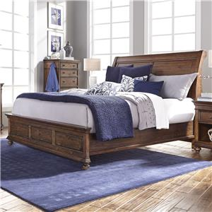 Morris Home Furnishings Camden California King Sleigh Bed