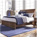 Morris Home Furnishings Camden California King Sleigh Bed - Item Number: I57-404+407+410