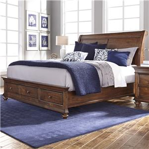 Morris Home Furnishings Camden King Sleigh Bed