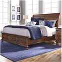 Aspenhome Camden King Sleigh Bed with Storage - Bed Shown May Not Represent Size Indicated