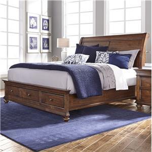 Morris Home Furnishings Camden California King Sleigh Bed