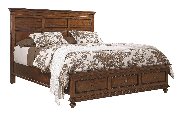 Aspenhome Camden Queen Panel Bed - Item Number: I57-412+403D+402