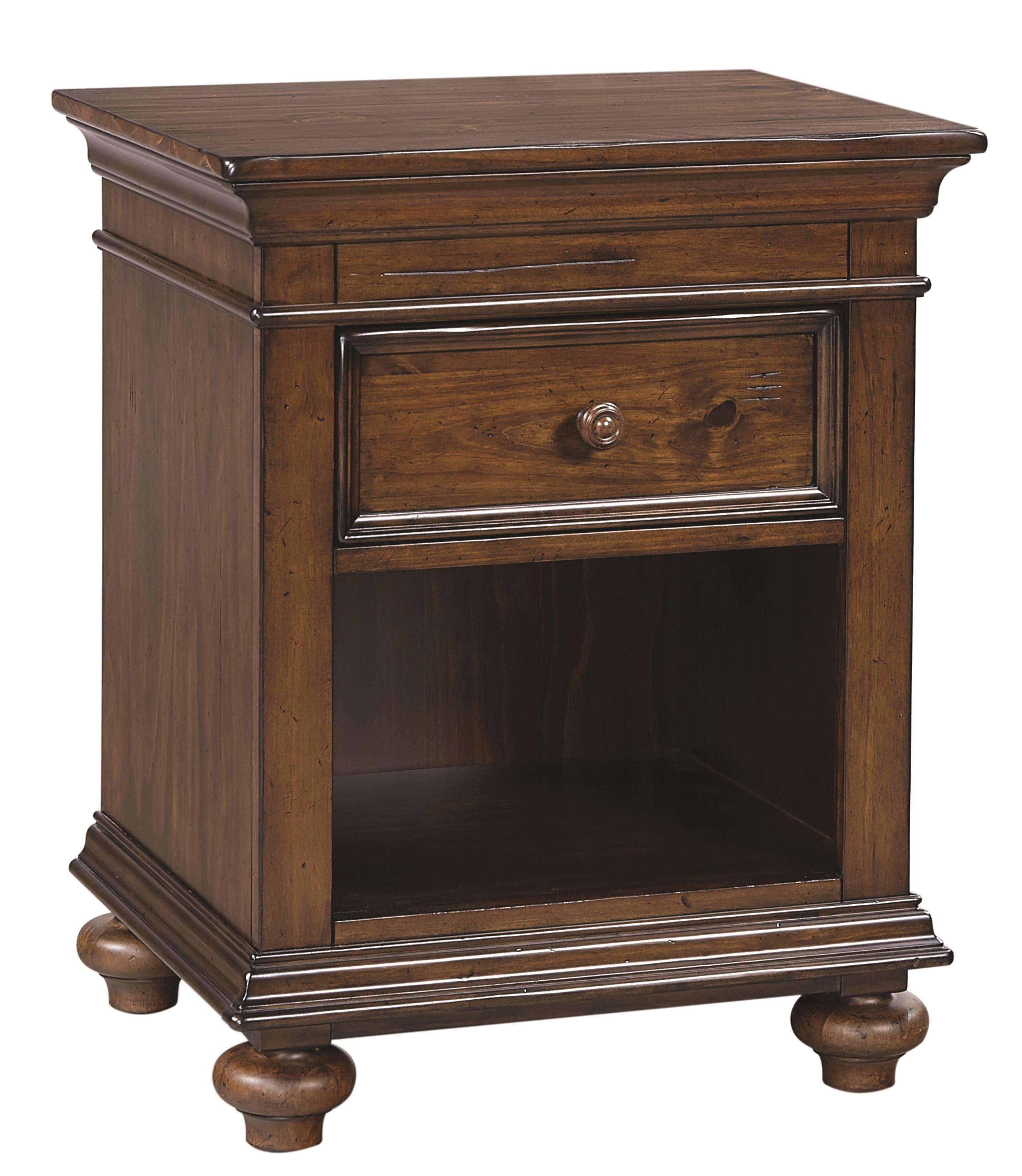 Aspenhome Camden One Drawer Nightstand  - Item Number: I57-451N
