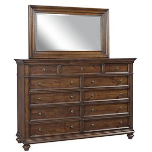 Aspenhome Camden Master Chest and Mirror