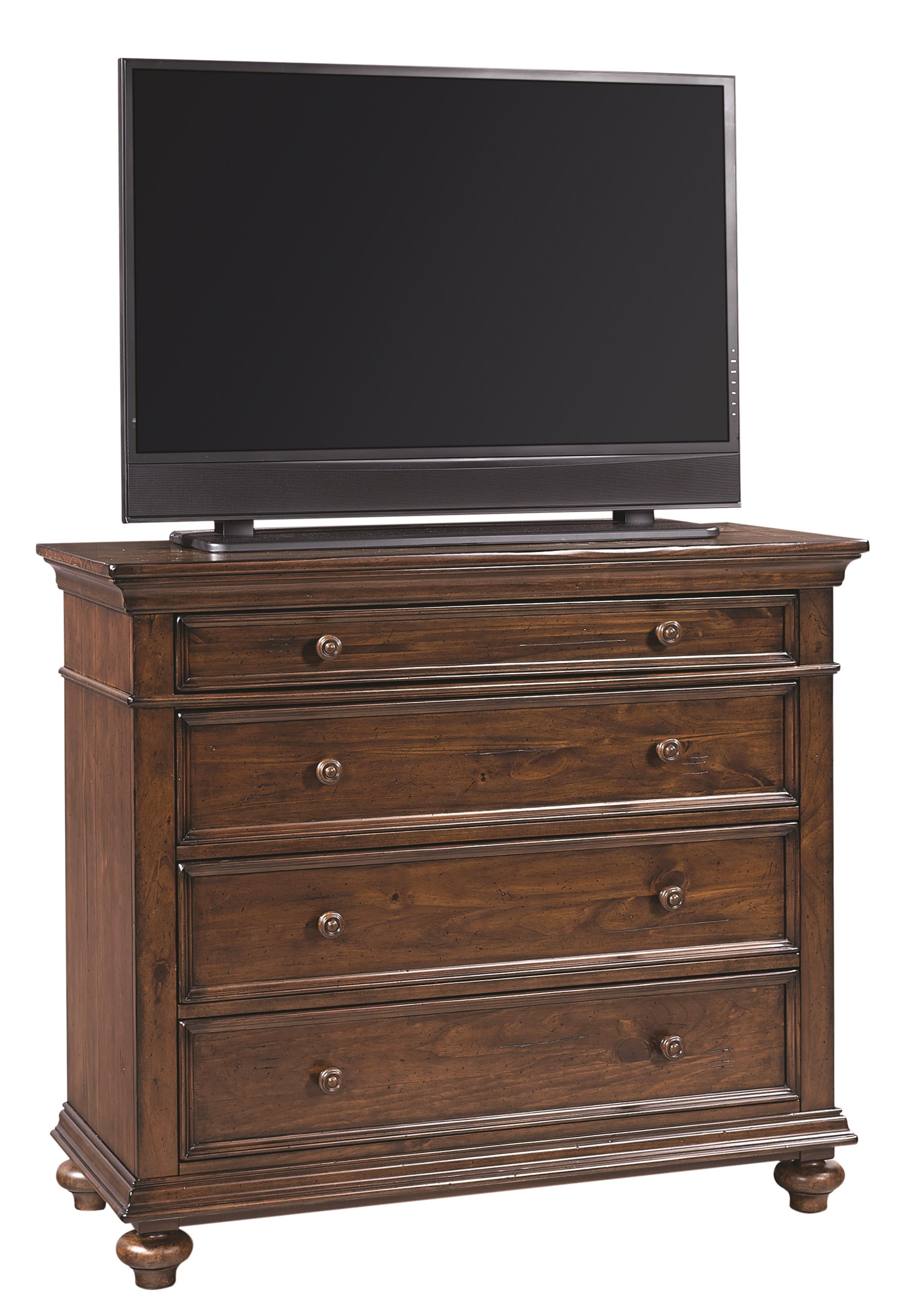 Aspenhome Camden Liv360 Ent. Chest  - Item Number: I57-486
