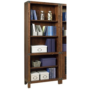 Aspenhome Canfield Open Bookcase