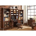 Aspenhome Canfield Open Bookcase with 4 Shelves