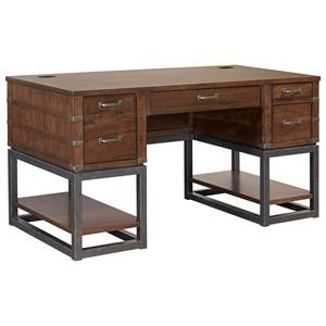 """61"""" Half Ped Desk"""