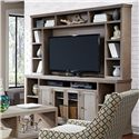 "Aspenhome Canyon Creek 84"" Entertainment Console and Hutch - Item Number: WCK1036+1036H-DRF"