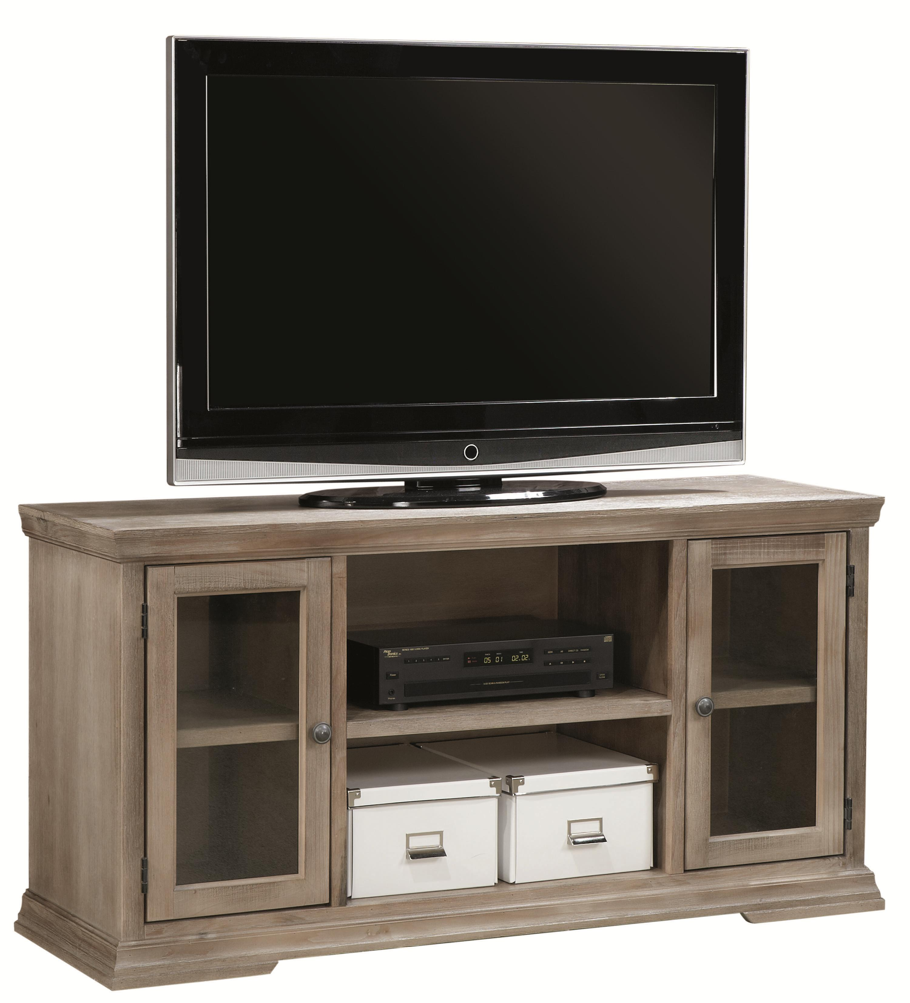 "Aspenhome Canyon Creek 55"" TV Console with 2 Doors  - Item Number: WCK1055-DRF"