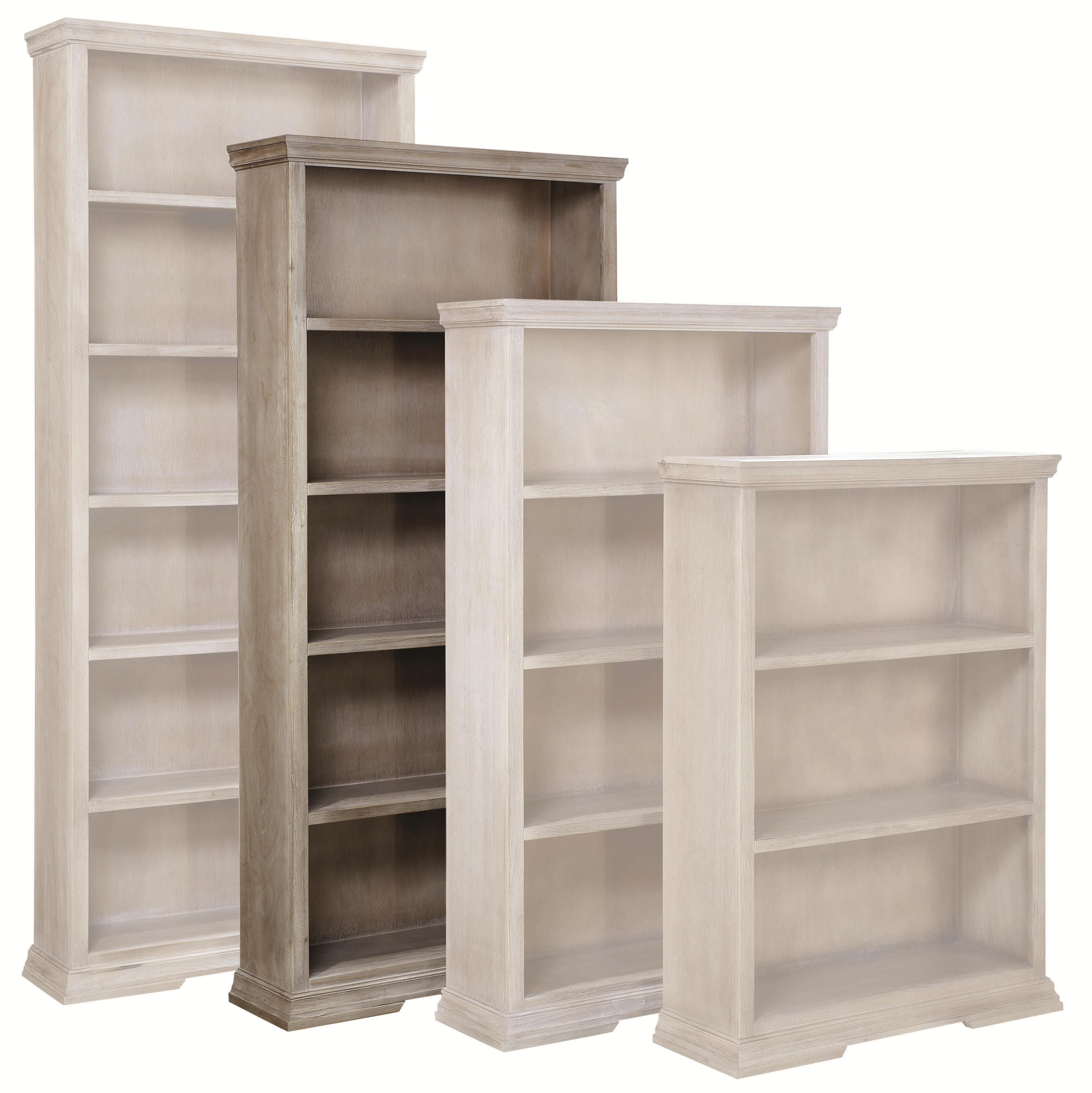 "72"" Bookcase with 4 Fixed Shelves"