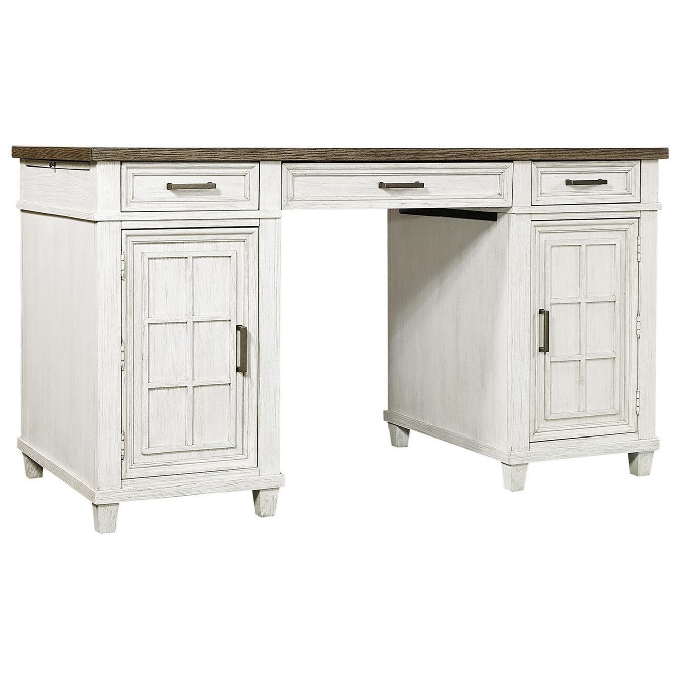 Caraway Counter Height Desk  by Aspenhome at Baer's Furniture