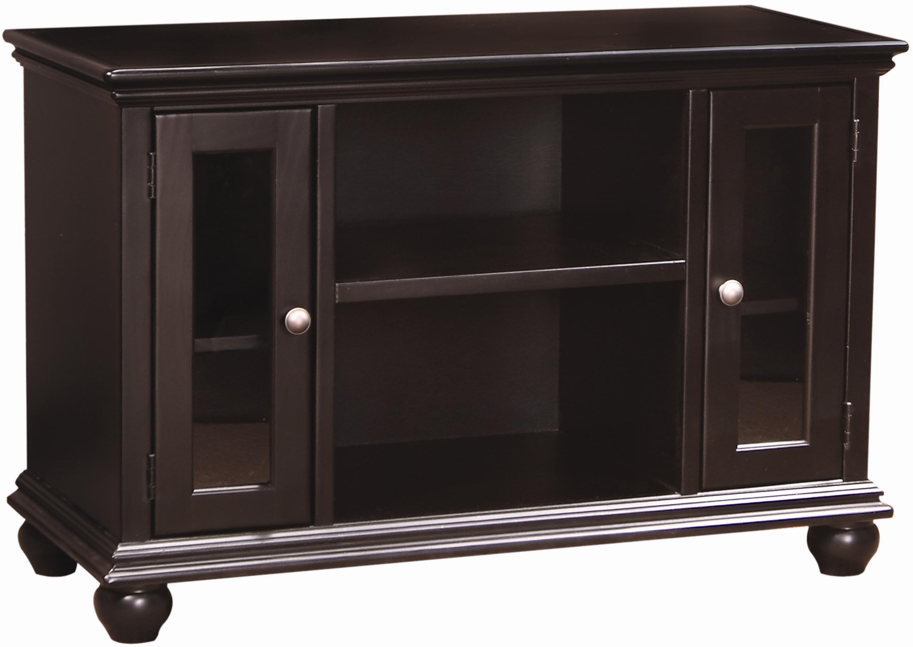 Aspenhome Casual Traditional 41-Inch Console - Item Number: CT1041-BLK