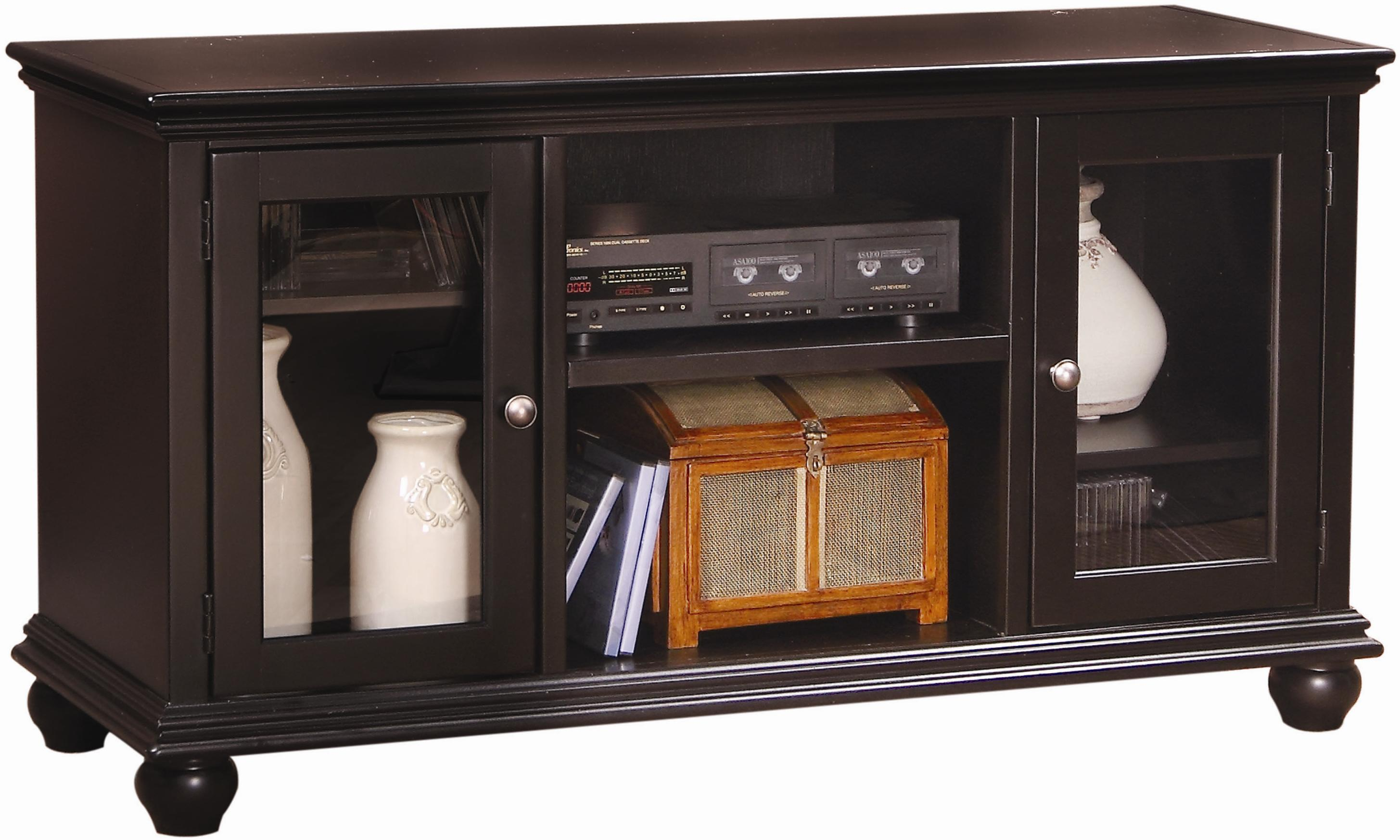 Aspenhome Casual Traditional 51-Inch Console - Item Number: CT1051-BLK