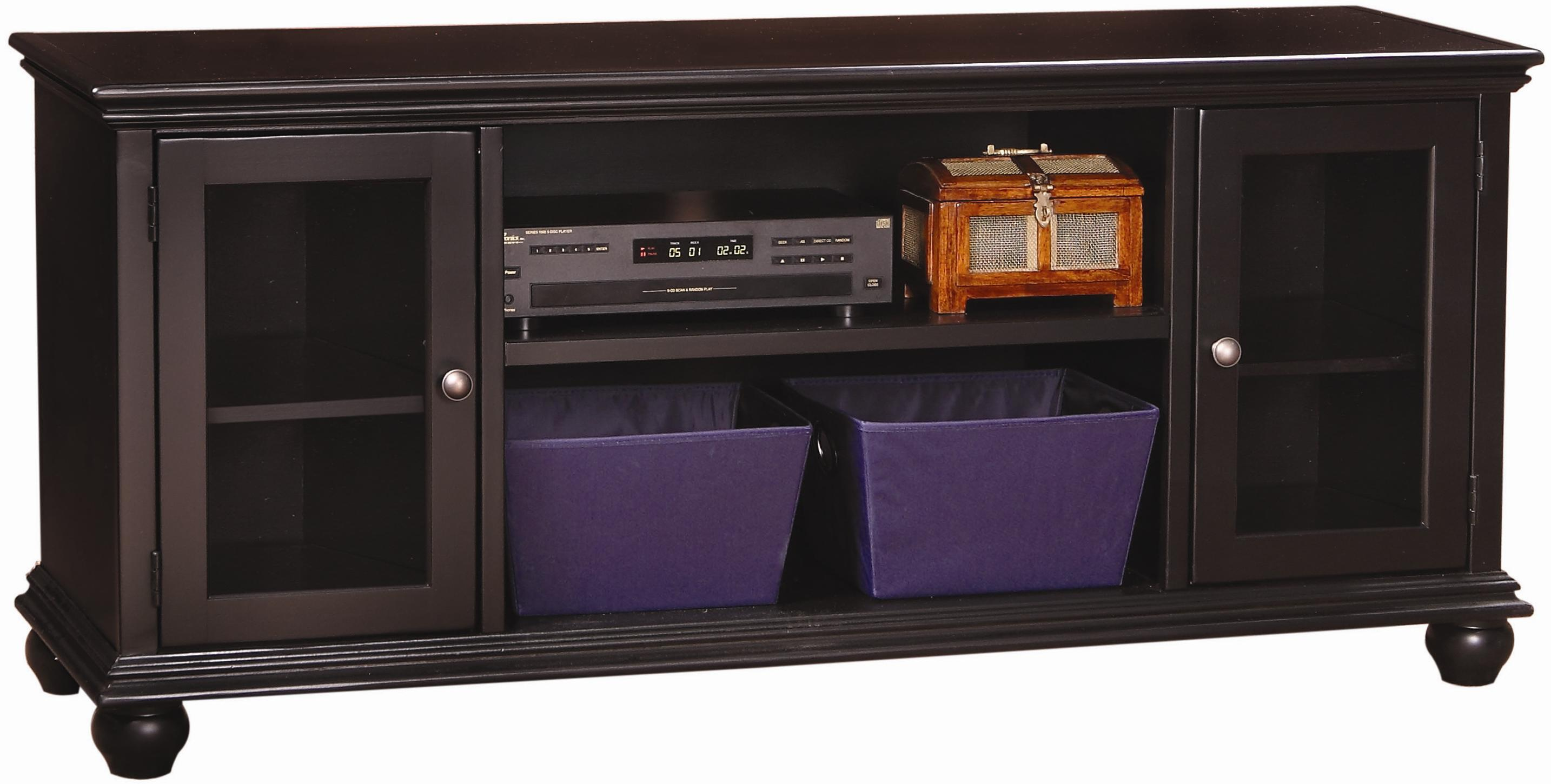 Aspenhome Casual Traditional 61-Inch Console - Item Number: CT1061-BLK