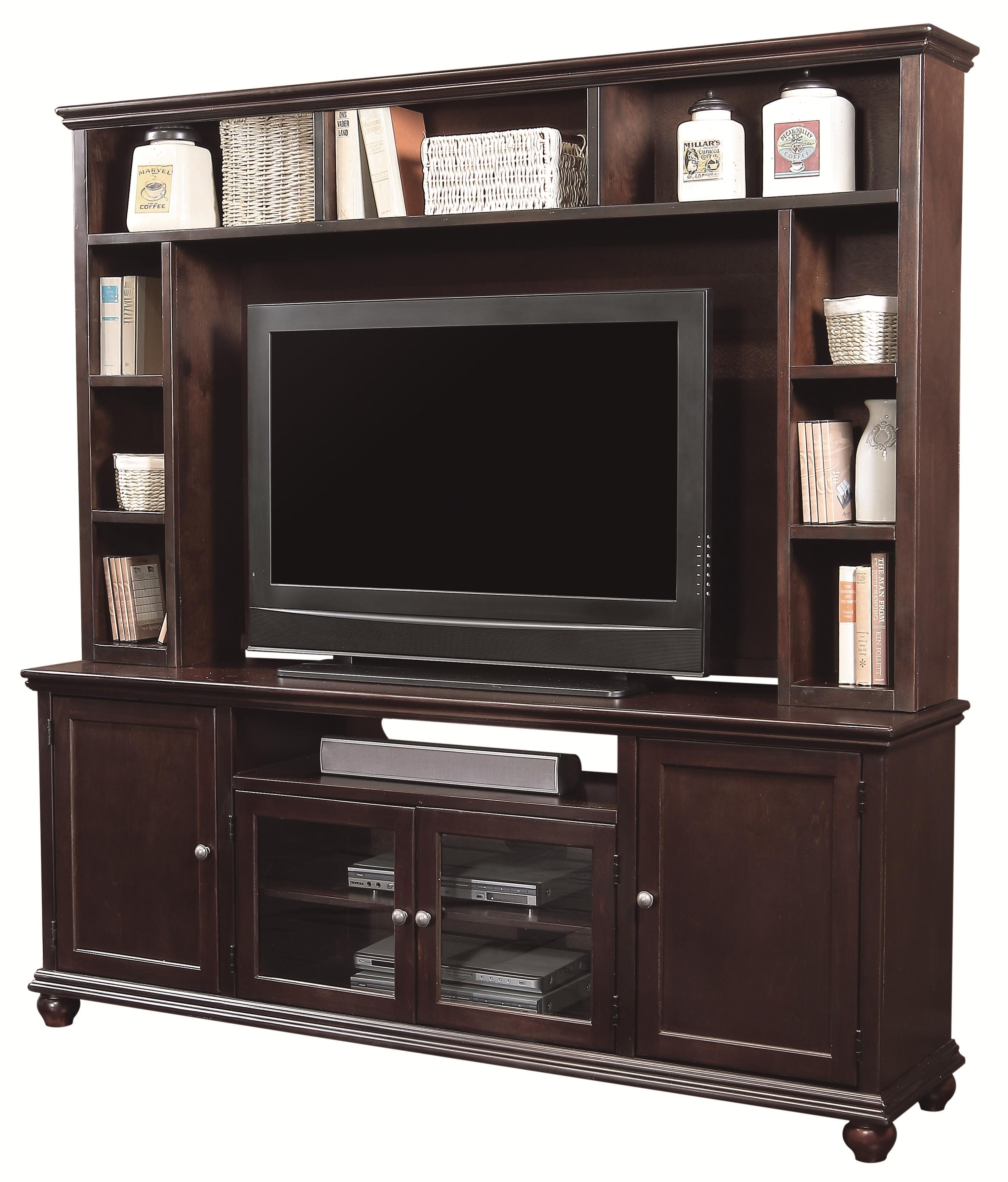 Aspenhome Casual Traditional Wall Unit - Item Number: CT1077+1077H-CHY