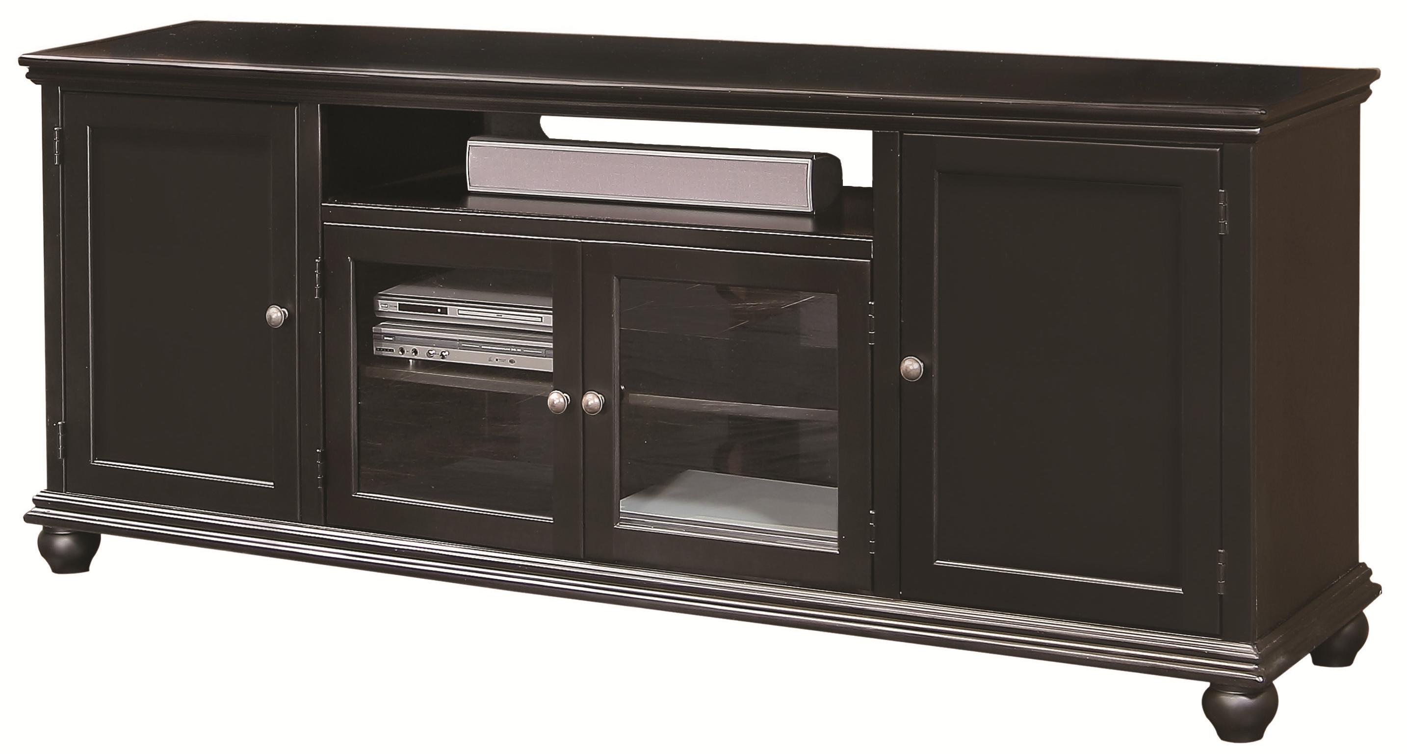 "Aspenhome Casual Traditional 76"" Console - Item Number: CT1077-BLK"