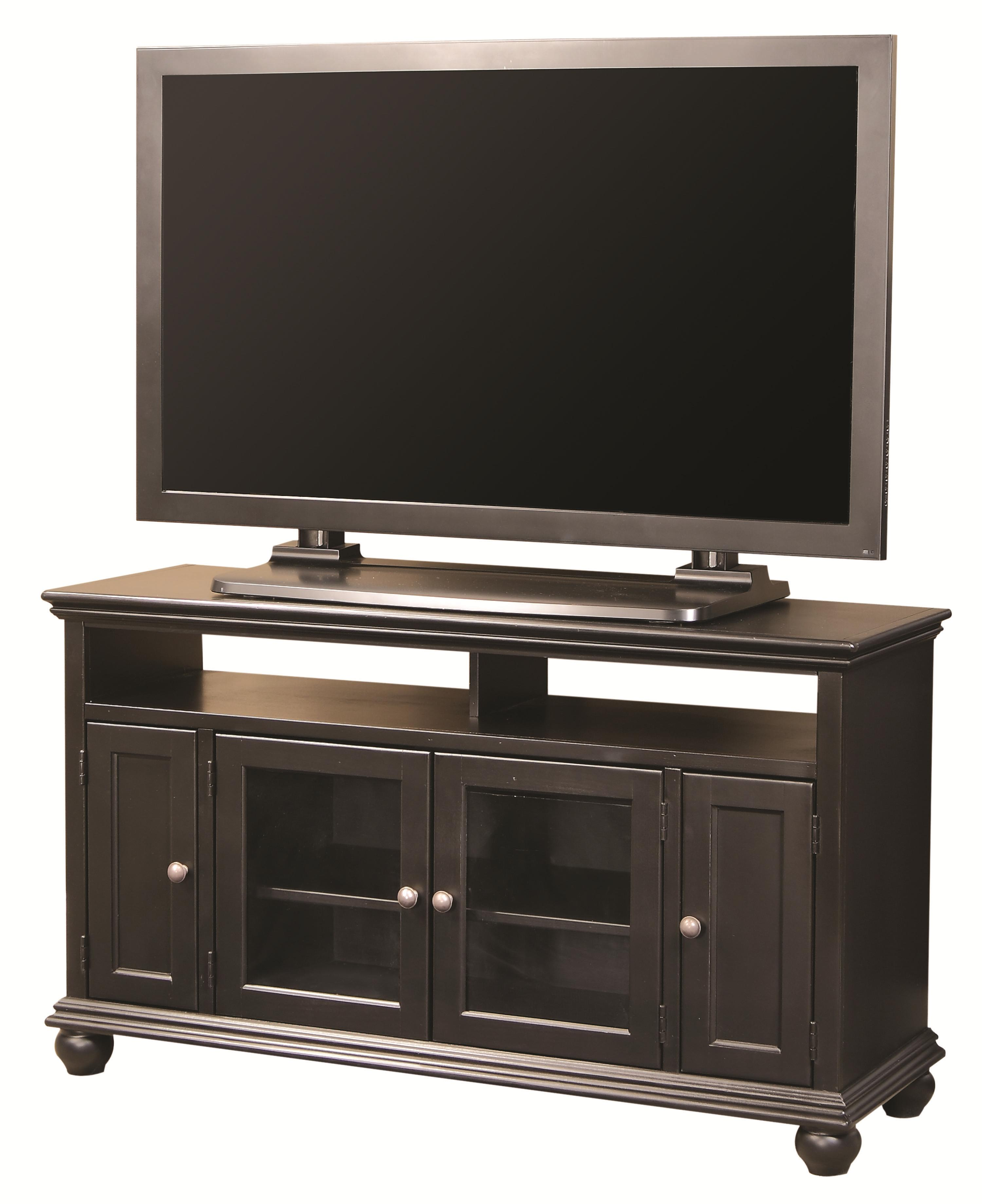 "Aspenhome Casual Traditional 52"" Console - Item Number: CT1625-BLK"