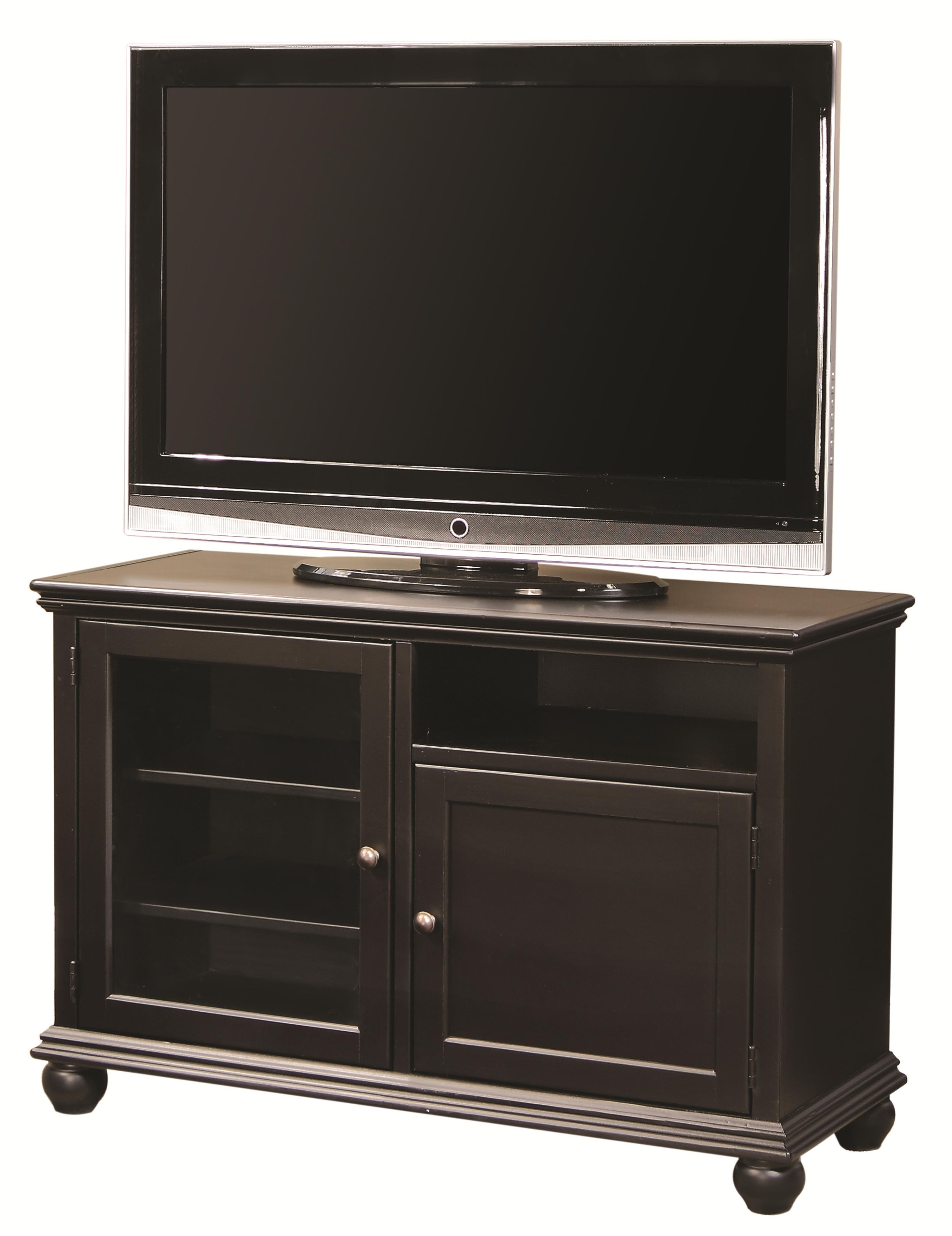 "Aspenhome Casual Traditional 45"" Console - Item Number: CT1645-BLK"