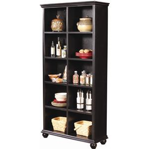 Morris Home Furnishings Casual Traditional 77-Inch Bookcase