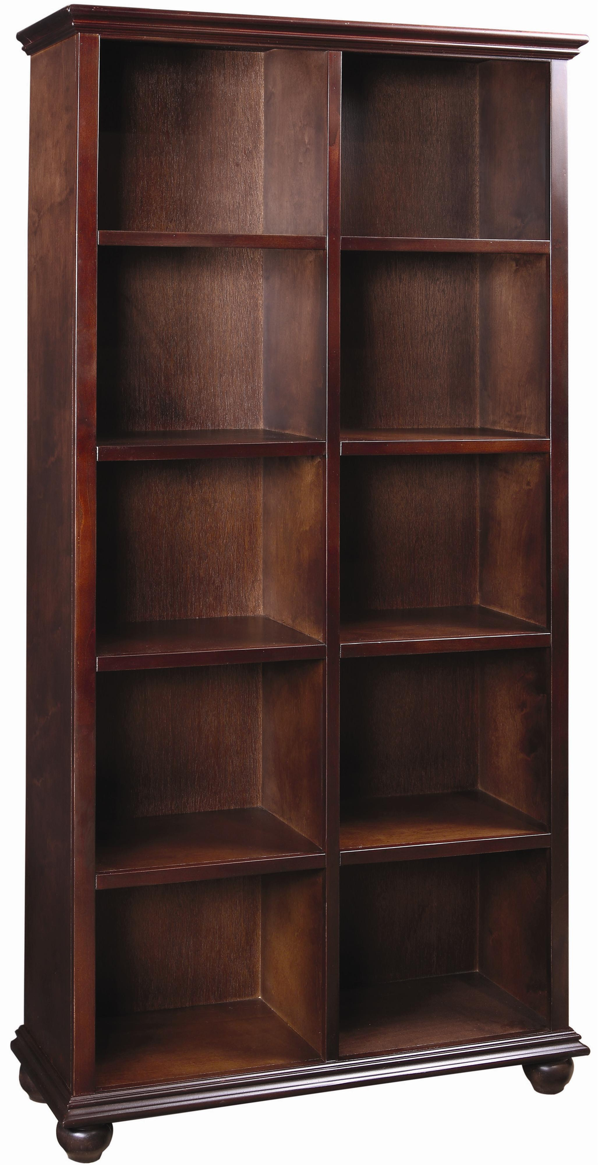 Aspenhome Casual Traditional 77-Inch Bookcase - Item Number: CT4077-CHY