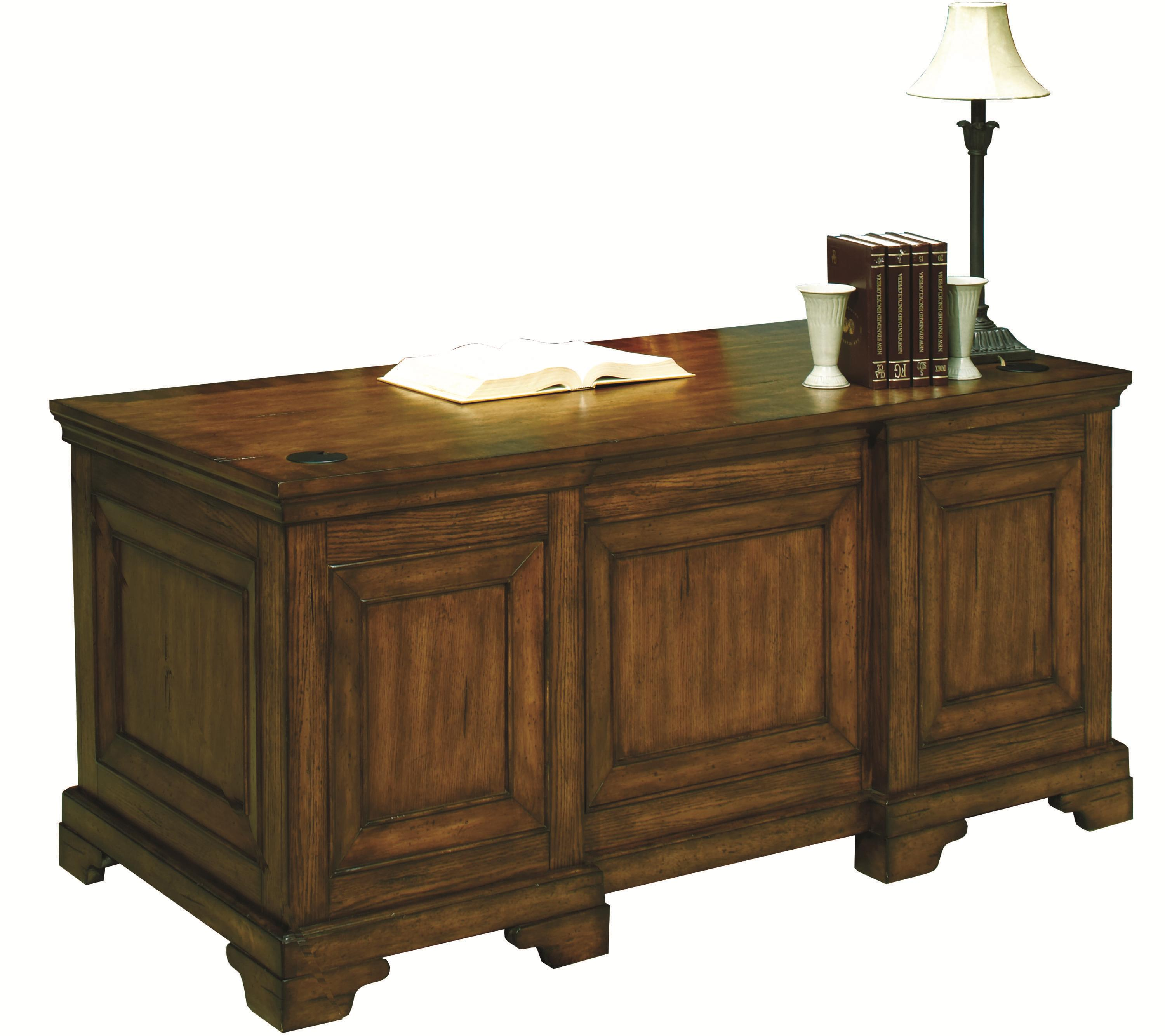 Aspenhome Centennial Executive Desk - Item Number: I49-303-2