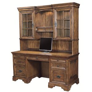 Highland Court Centennial Credenza and Hutch Combination
