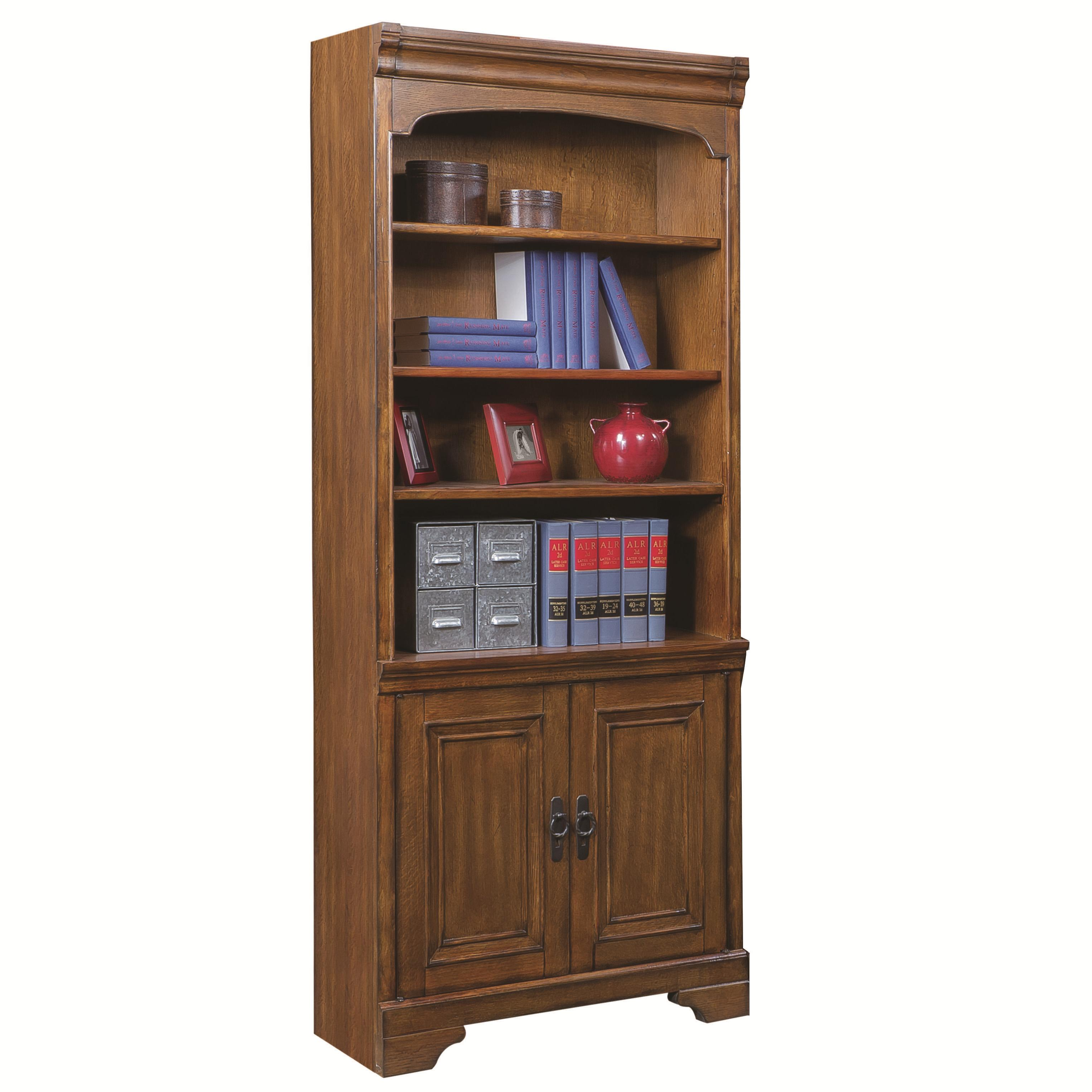 Aspenhome Centennial Door Bookcase  - Item Number: I49-332-2