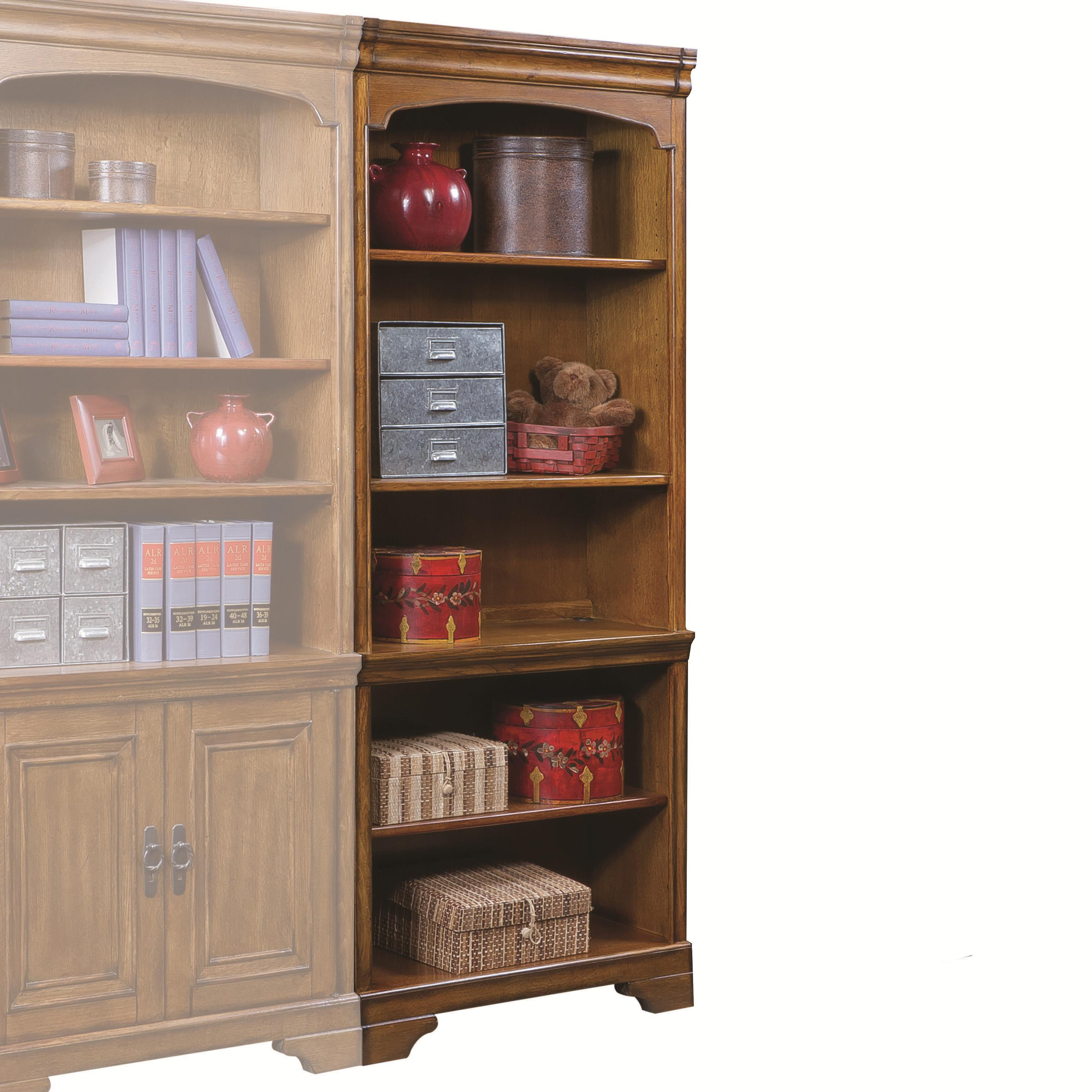 Aspenhome Centennial Open Bookcase  - Item Number: I49-333-2