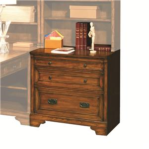 Morris Home Furnishings Centennial 32-Inch Drawer/File Unit